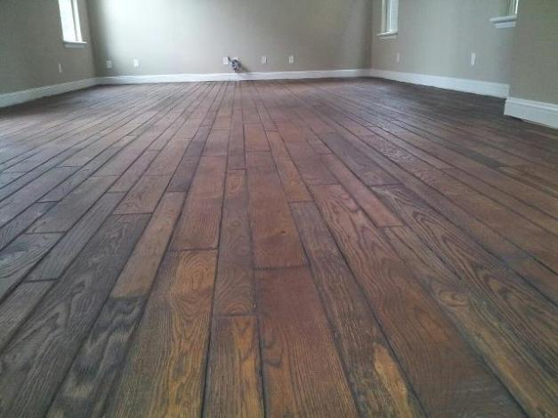 Wood Floor - Branard Townhomes