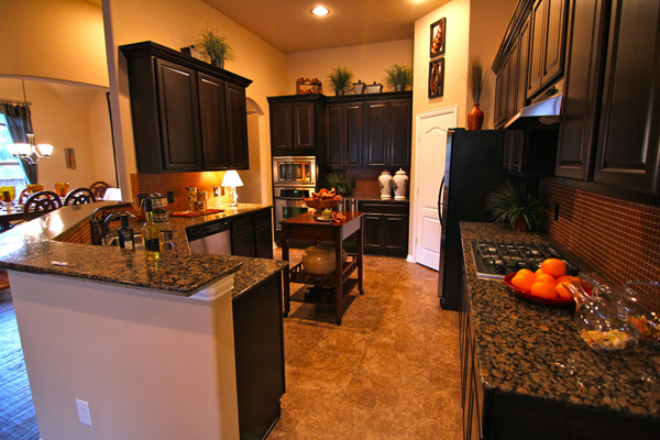 Kitchen by Drake Homes Inc
