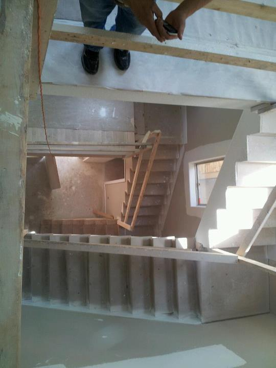 Stairwell - building phase