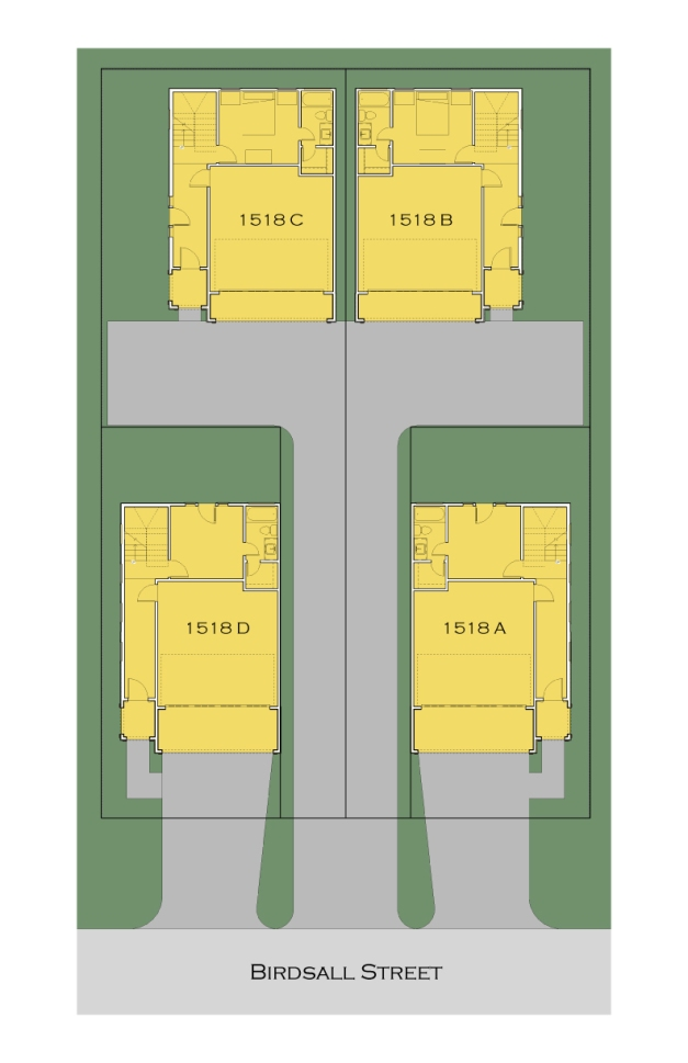 1518 Birdsall Site Plan