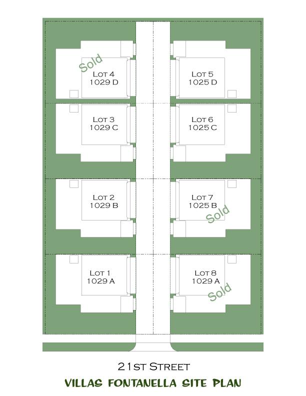 Villas Fontanella Site Plan