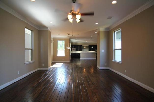 Wood Floor - Branard St Townhomes