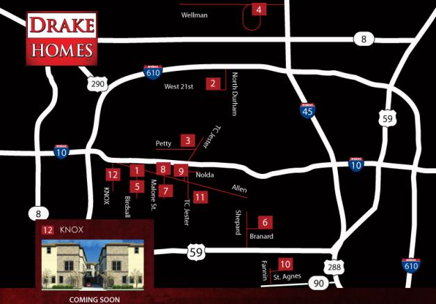 Knox Street on Map