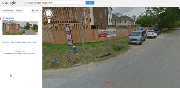 Google Map Street View