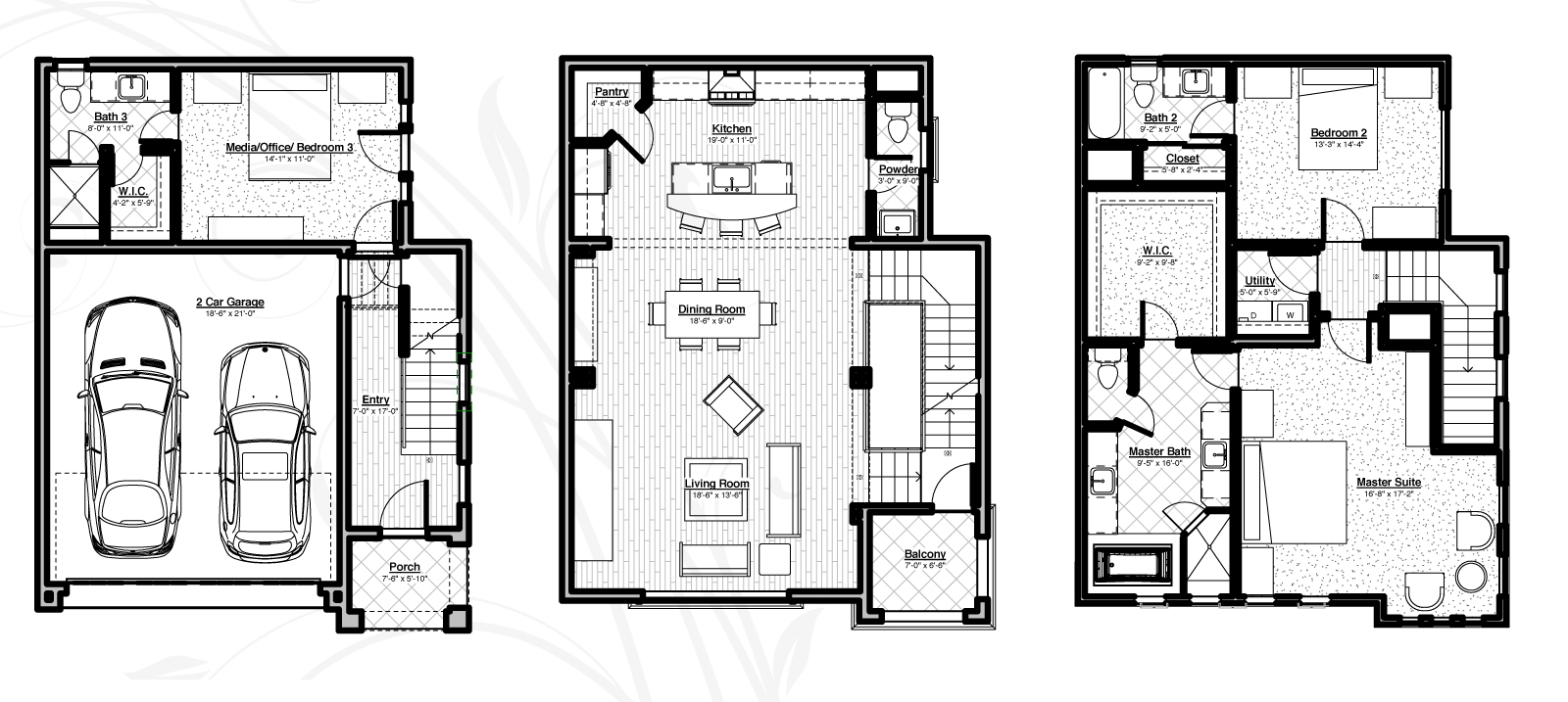Stillman single family homes floorplan drake homes inc for Single family house plans