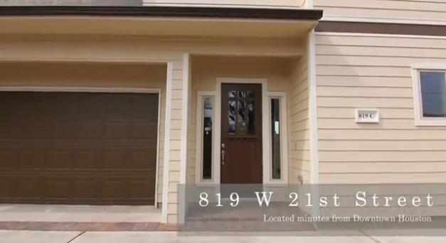exterior 819W 21st - C