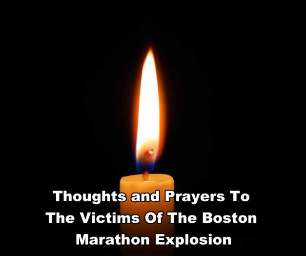 Candle - Victims of the Bombing at the Boston Marathon