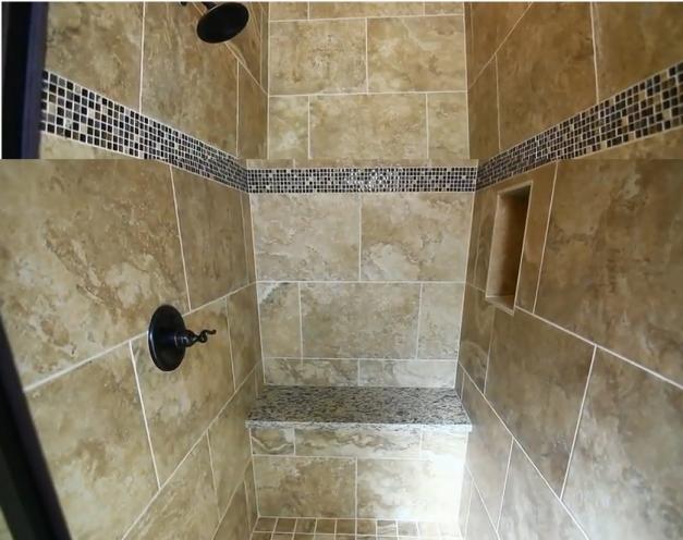 shower - skewed image