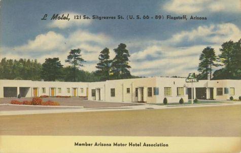 Flagstaff AZ Motel - Route 66