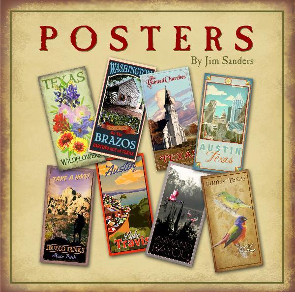 Posters by Jim Sanders