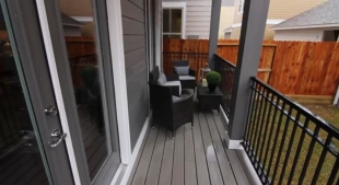 Exterior - back porch - Ashland Square
