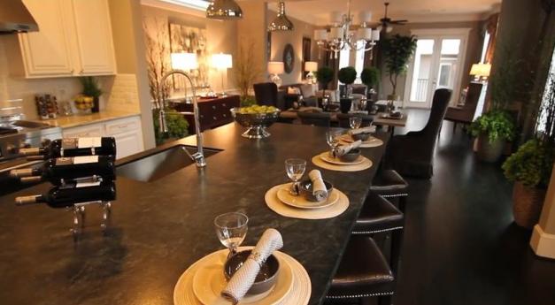 Kitchen/Living area Ashland Square