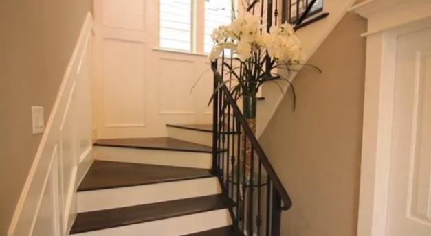 stairway Second Floor Landing Model Homes - Ashland Square
