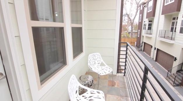 balcony - The Villas on Eighteenth Street
