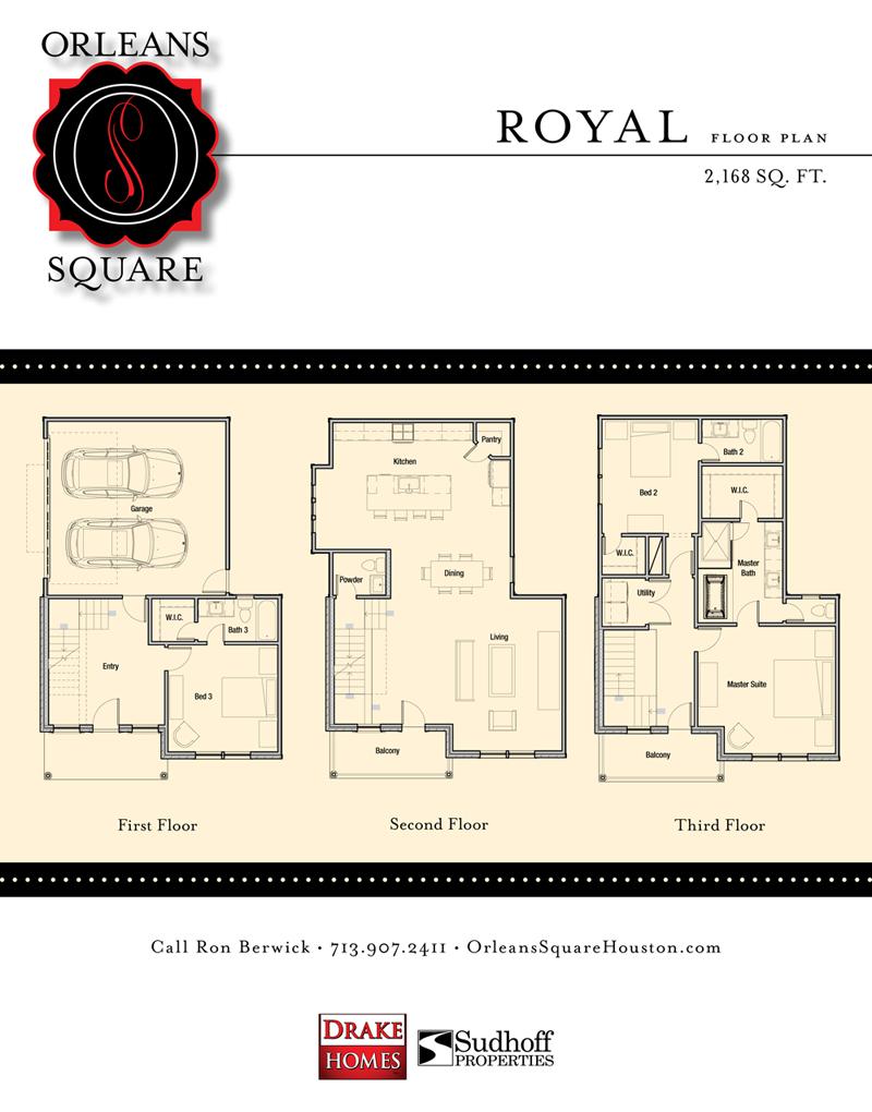 Floor plan drake homes inc blog for Orleans builders floor plans