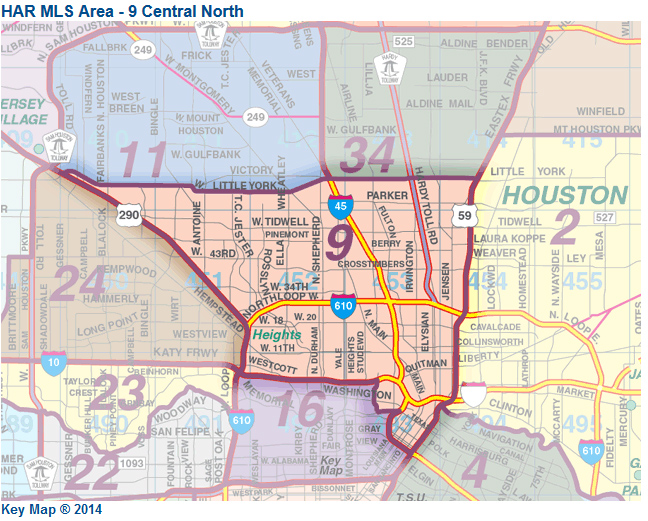Map For North Houston From Har  Drake Homes Inc  Blog