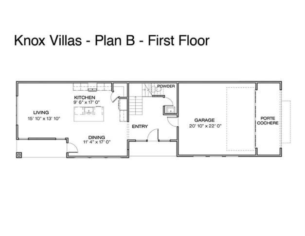 First floor Knox Villas