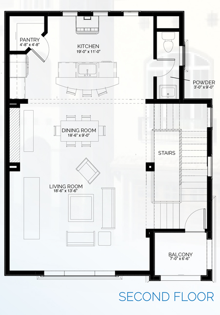 Stillman II - floorplan A second floor