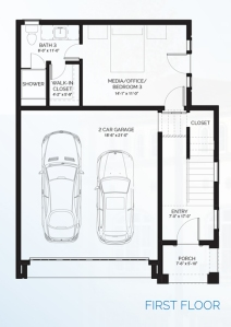 Stillman II - floorplan B first floor