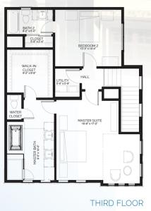 Stillman II - floorplanB third floor