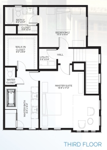 Stillman II - floorplanB third floor