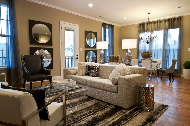 Orleans Square by Drake Homes Inc - Living Room