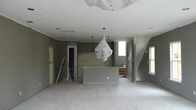 Living Room to  kitchen-pendent-lighting Orleans Square