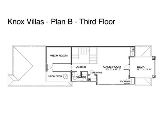 third-floor Knox Villas