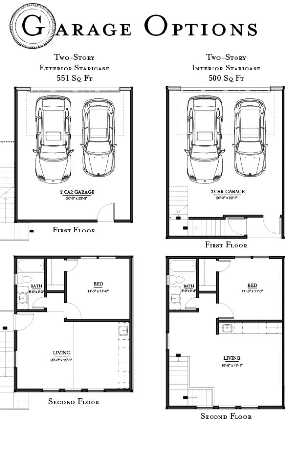 Garage Options - Ashland Square