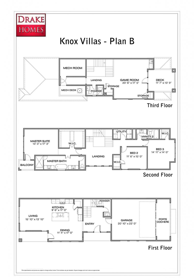 Knox Villas - floorplan