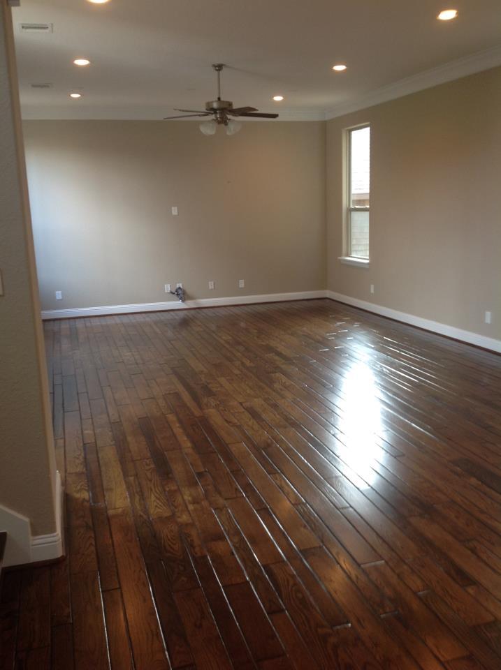 Branard St wood floor