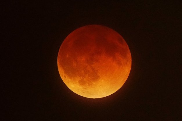 US-Space Lunar Eclipse