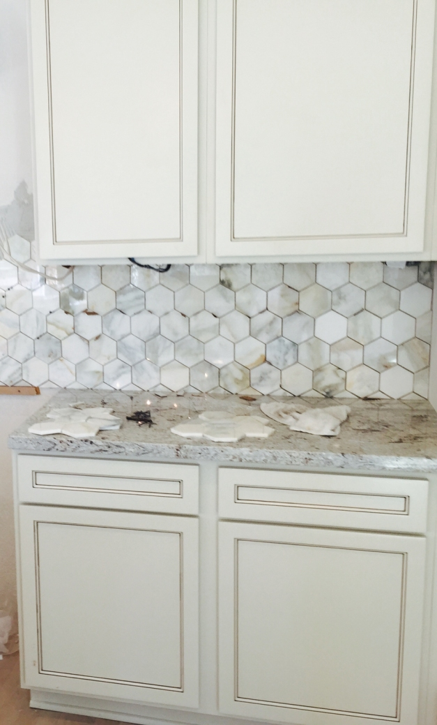Tile installation - kitchen - Avondale Park Manor