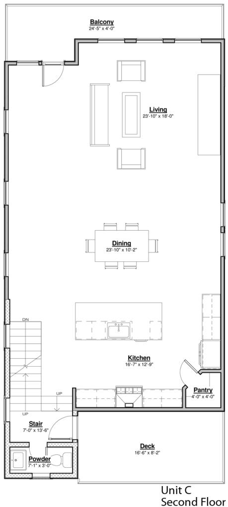 Avondale Park Unit C Second Floor