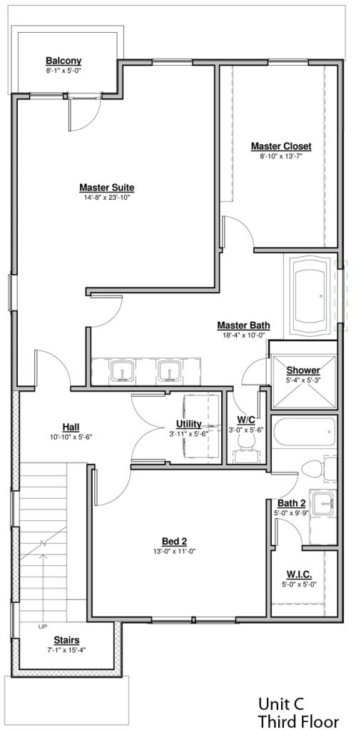Avondale Park Unit C First Floor