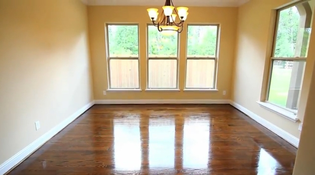 Wood floors by Drake Homes Inc