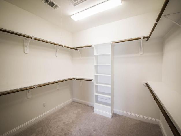 Stillman II Master bedroom closet