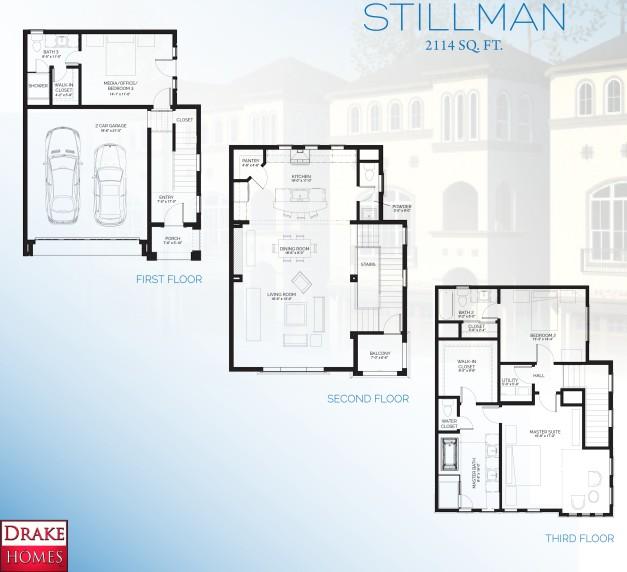 Stillman II floorplan