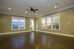 Wood floors - Drake Homes Inc., Houston, TX