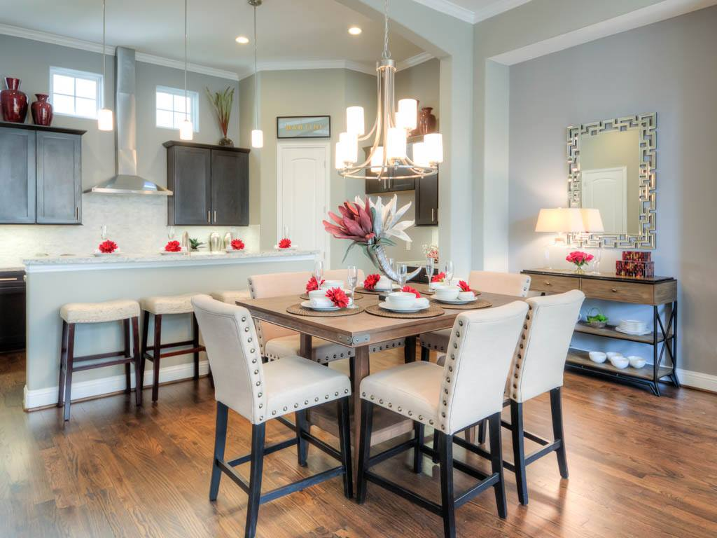 Dining areas drake homes inc blog for Hardwood flooring 77041