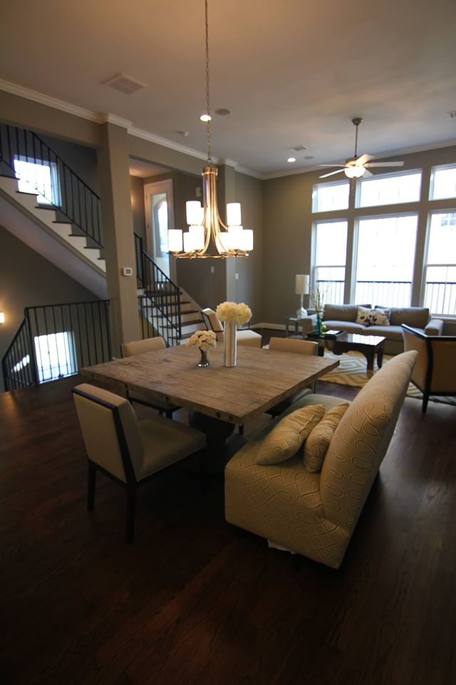 Dining areas drake homes inc blog for Drake homes
