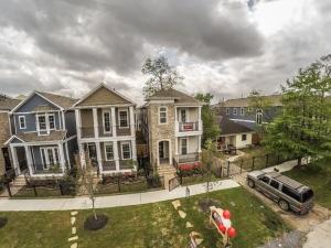 Aerial photos for Ashland Square!