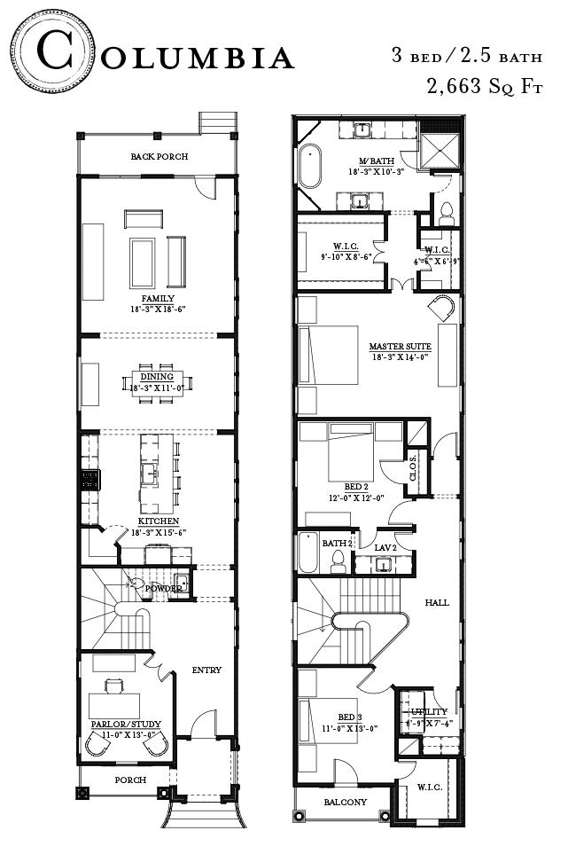 Columbia Floorplan