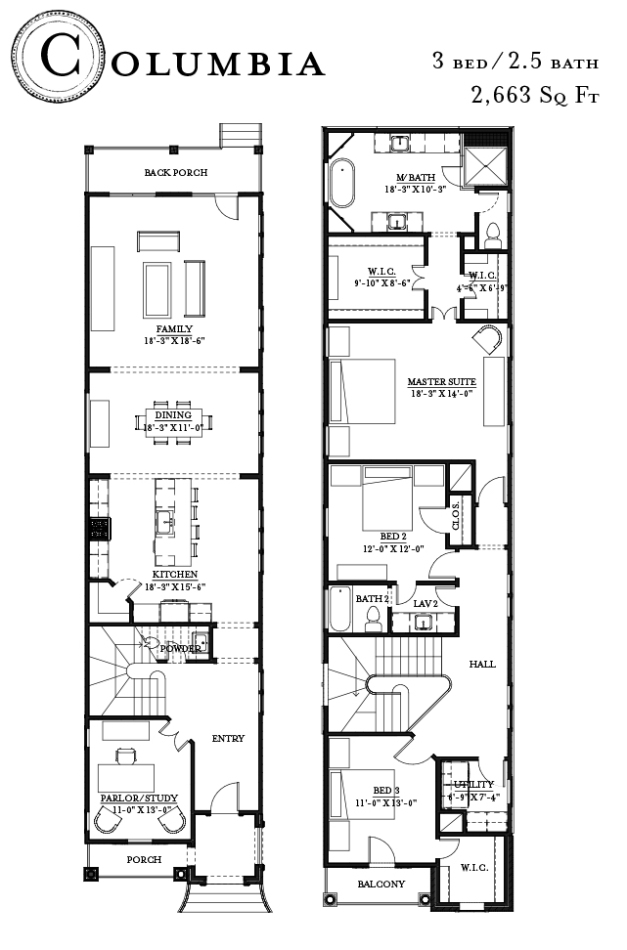 Columbia Floorplan