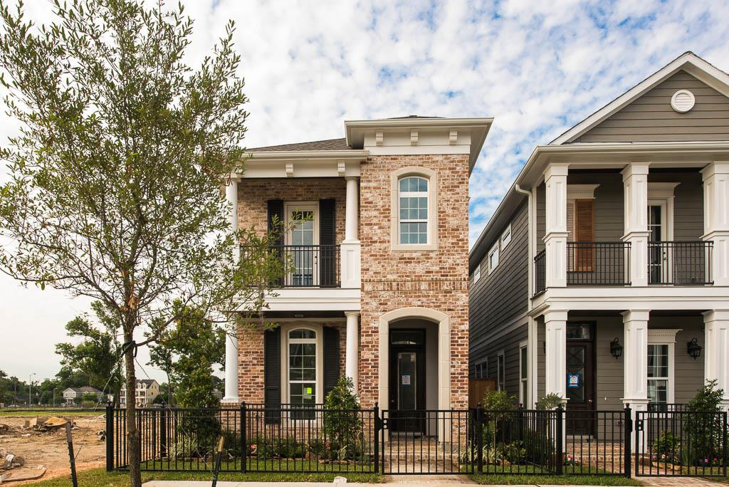 406 w 26th houston texas ashland square by drake for Drake homes