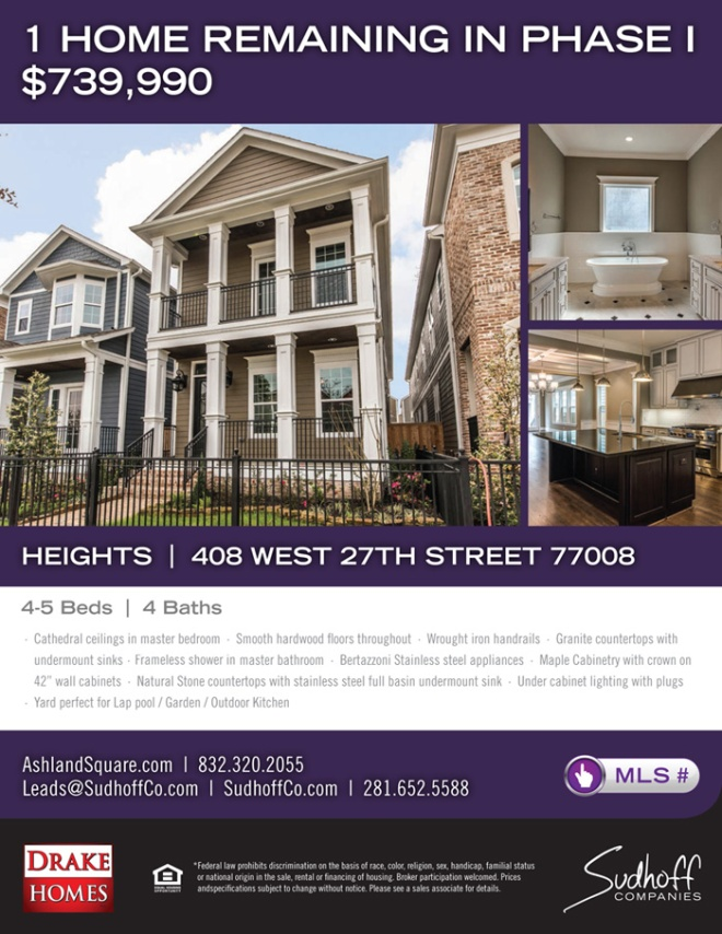 Ashland Square - Phase I - flyer