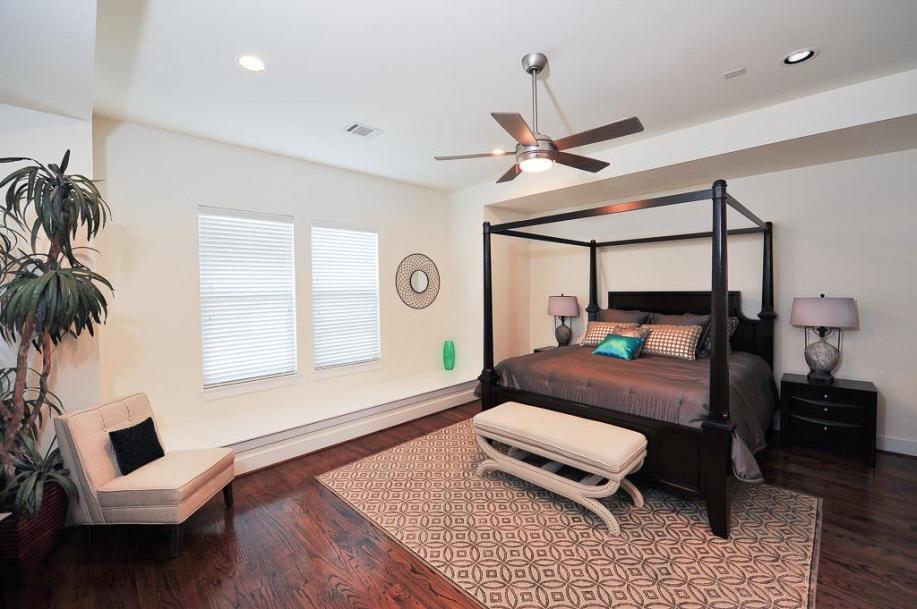 Avondale Park Manor Master Bedroom