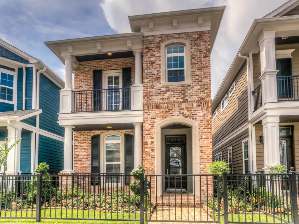 Ashland square in the historic houston heights drake for Drake homes inc