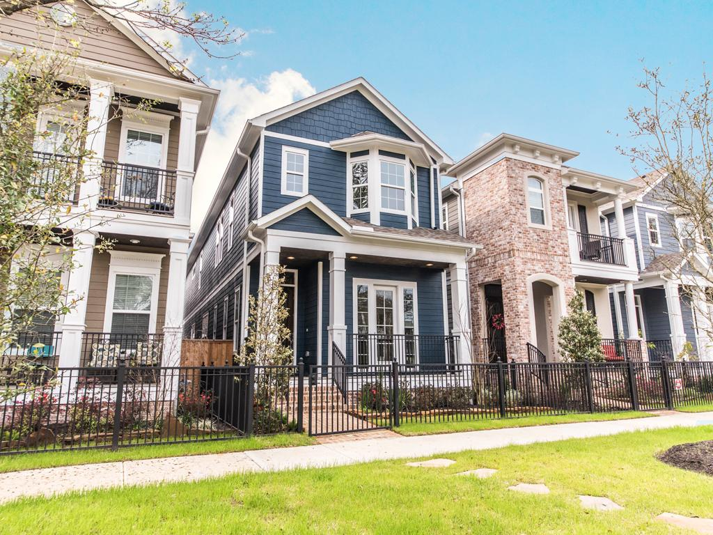 Open house located in the historic houston heights for Drake homes