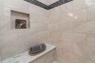 Ashland Square master bath shower